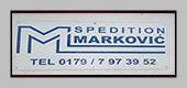 SPEDITION MARKOVIĆ
